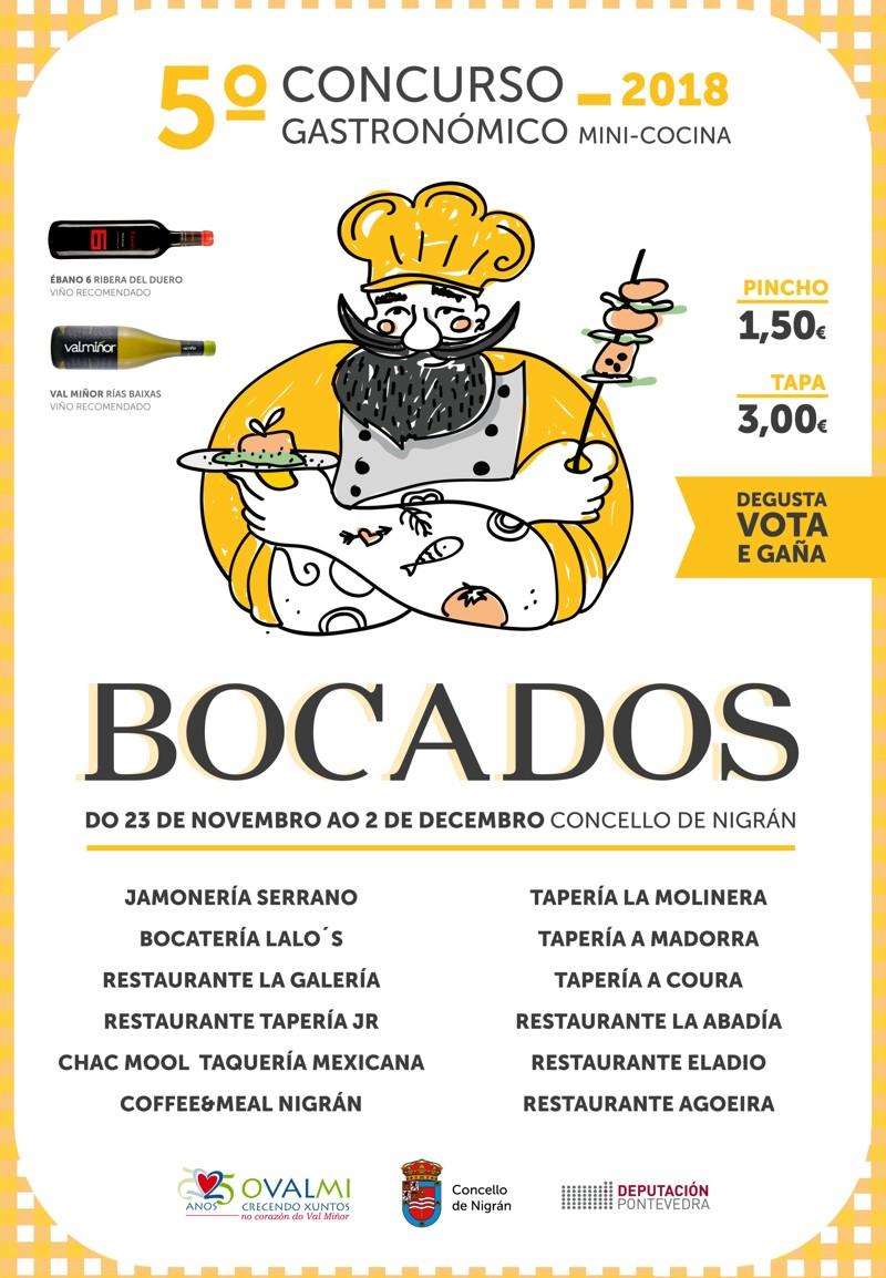 Cartel 5ª Edición concurso BOCADOS