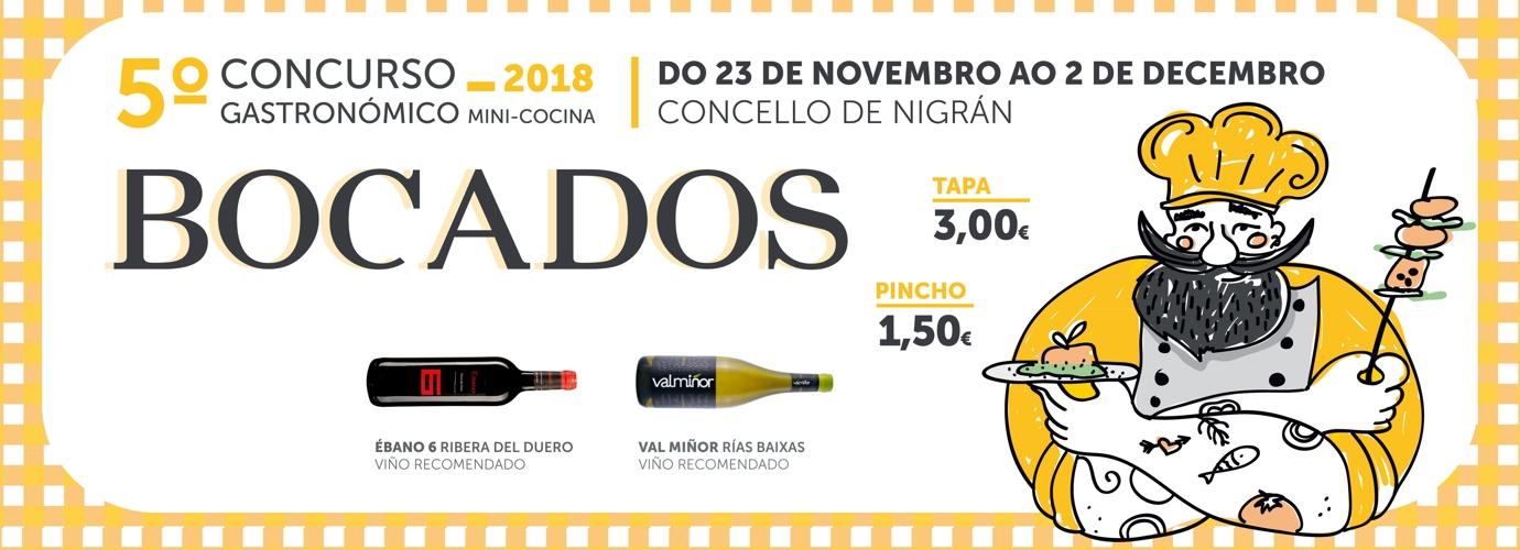 5ª Edición concurso BOCADOS de mini-cocina