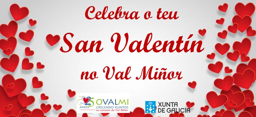 Celebra tu San Valentín en el Val Miñor 2021.